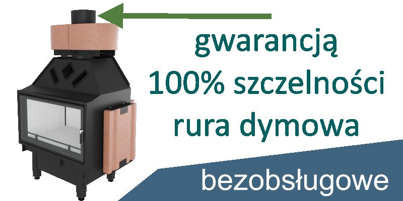 Bezpieczna bezobsługowa akumulacja ciepła w kominkach