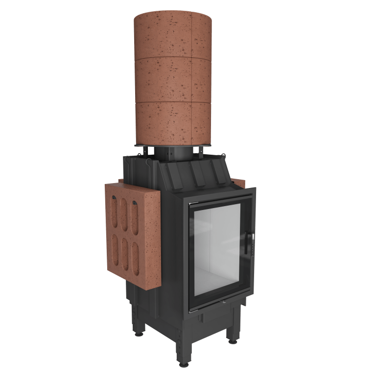 TERMO i akumulacyjne - kominki ciepłe