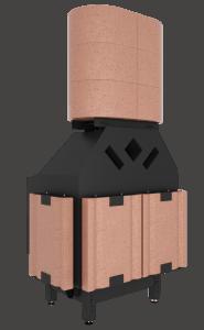 Akumulacja boczna w kominku