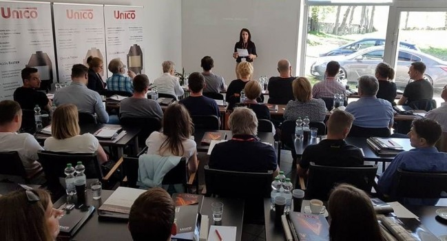Szkolenia UNICO 2018 rok