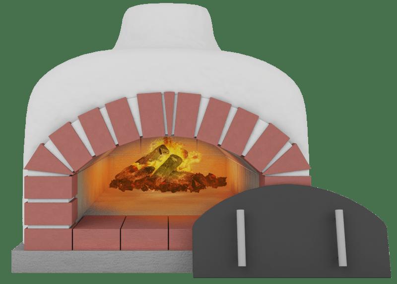 Piece do pizzy tunelowe serii Jacek