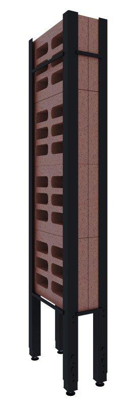 Panel akumulacyjny do kominka