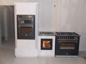Nowoczesny piec kuchenny