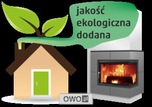 Kominki ekologiczne, jakość ekologii dodana