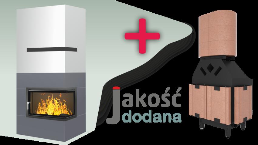 Jakość akumulacja ciepła w kominku