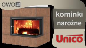 Kominki boczne UNICO prezentacja