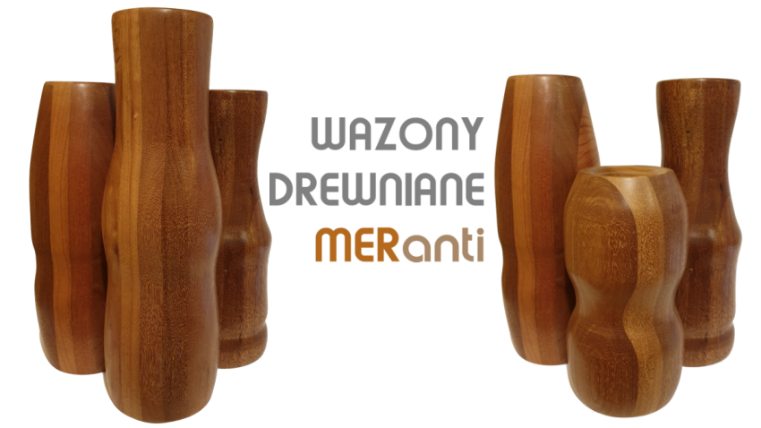 Wazony z drewna Grupa owo.pl