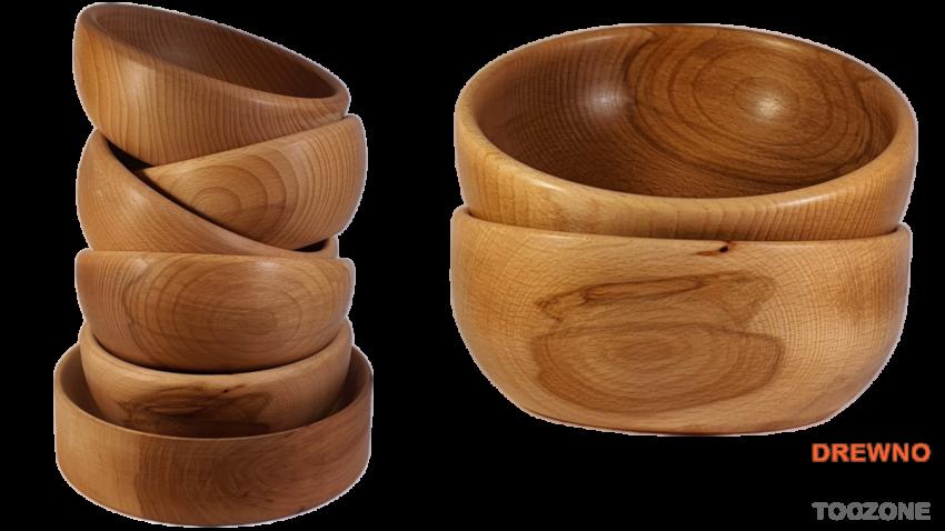 Miski drewniane Smart