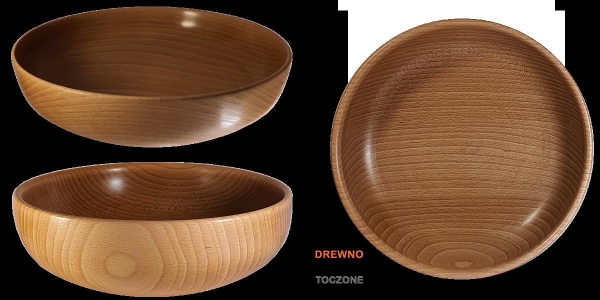 Miski drewniane ręcznie robione