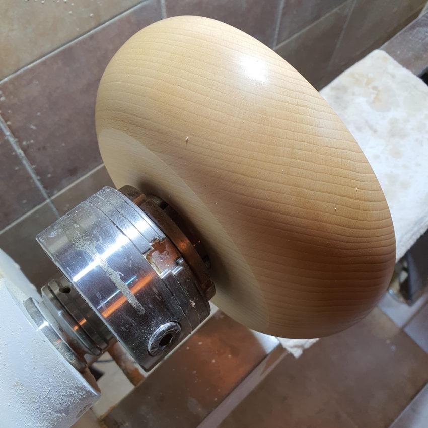 Toczenie miski drewnianej