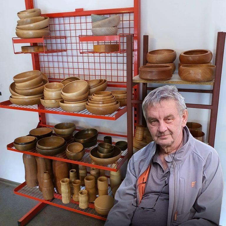 ekspozycja pracownia drewno toczone
