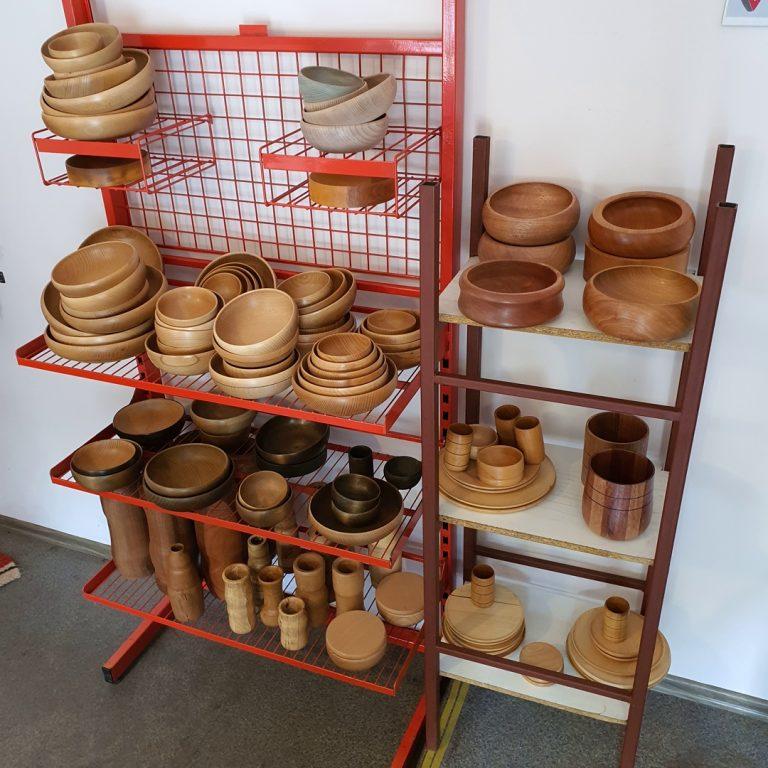 Ozdoby z drewna ekspozycja w Krzeszowicach
