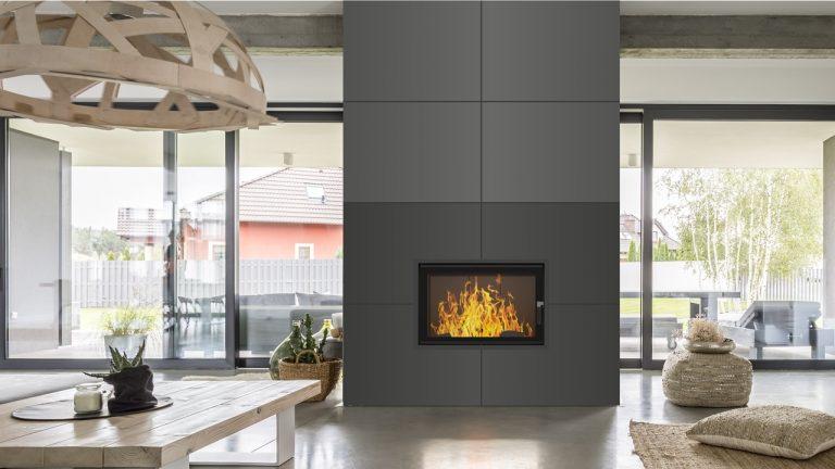Pomysł na kominek ciepły